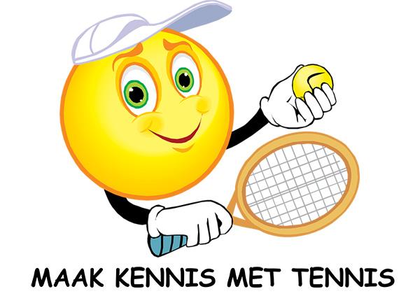 Afbeeldingsresultaat voor maak kennis met tennis